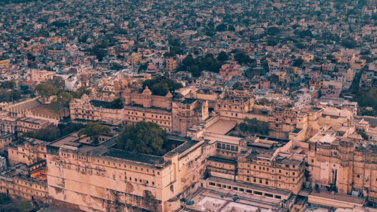udaipur-aerial-view