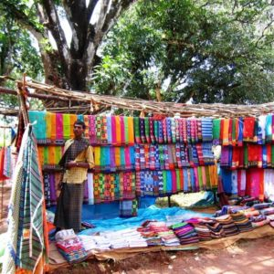 Cplourful Saris