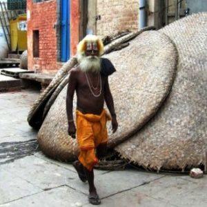 Holy man of Varanasi
